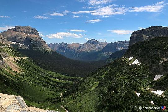 Glacier. Crown og the Continent.Roadtrip ruter og nationalparker i USA