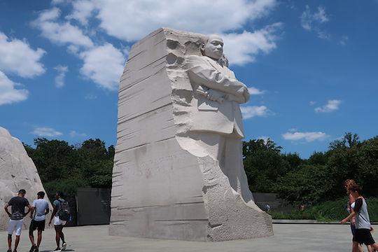 Martin Luther Kings mindeplads i DC. www.Drivingusa.dk