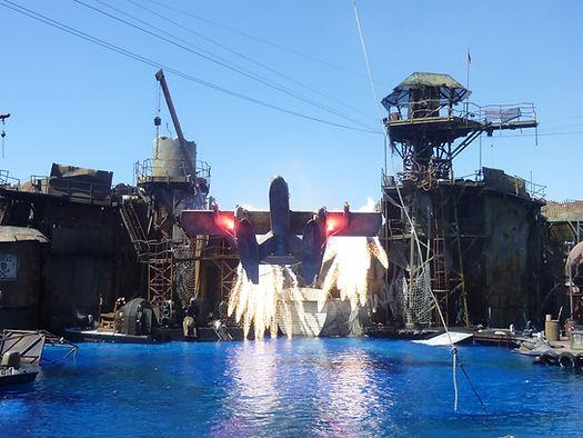 Waterworld. Universal Studios. Roadtrip ruter og nationalparker i USA
