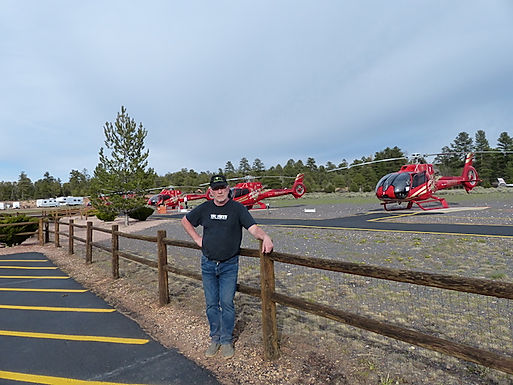 MIchael Bo Christensen, redaktør af www.drivingusa.dk i Grand Canyon