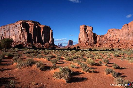 Monument Valley i Arizona, ejes og drives af Navajo.. drivingusa.dk