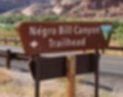 Negro Bill Canyon. www.drivingusa.dk