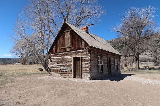 Butch Cassidys barndomshjem i Utah