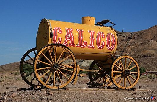 Selveste Arnold Schwarzenegger, gjordesom guvernør Calico til regionalpark.
