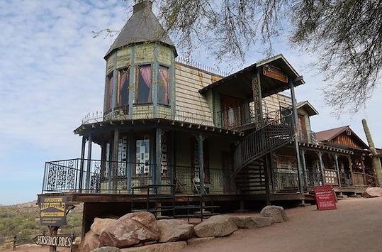 Goldfield Ghost Town er en guldgraverby