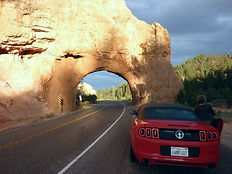 Red Canyon. Bryce Canyon. Drivingusa.dk - Roadtrip i USA