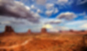 Navajo indianernes reservat i Monument Valley. Drivingusa.dk - Roadtrip i USA