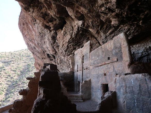 Salado stammens kvinder byggede de 16 rum.