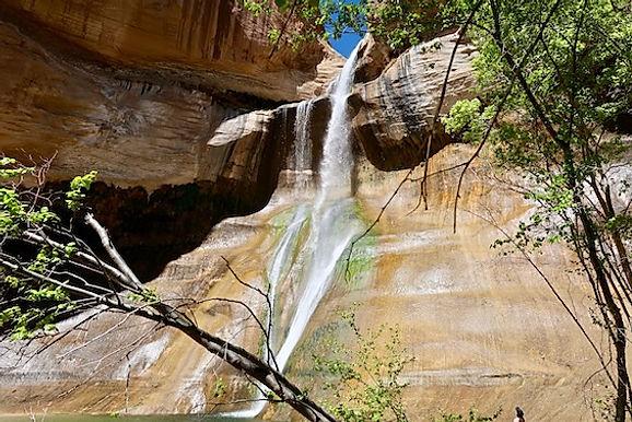 Fremont indianerne levede i Calf Creek Falls..jpeg
