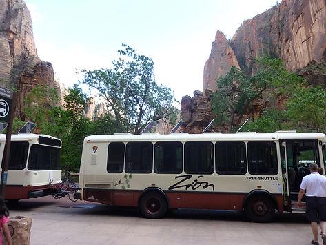 Zion shuttlebus. www.drivingusa.dk