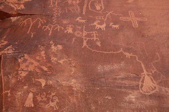 Petroglypher.Valley of Firejpg
