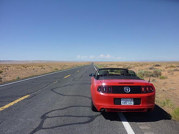 Mustang på amerikanske roadtrip. www.drivingusa.dk