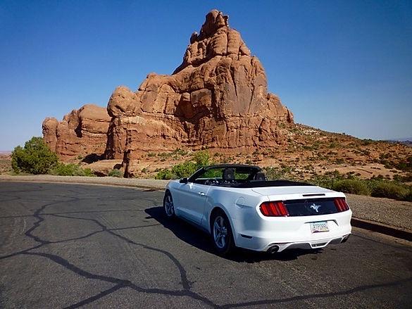 Lej en Mustang Convertible. www.drivingusa.dk