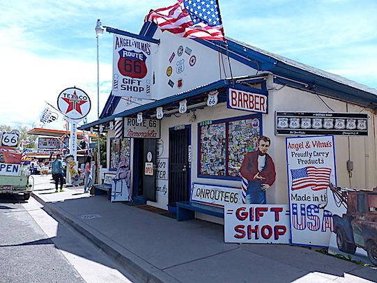 Gøgl og gejl, chrome og souvenirs på Route 66.