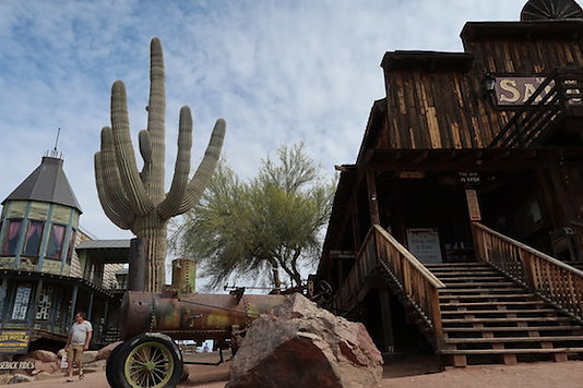 Goldfield Ghost Town på Apache Trail, Arizona.