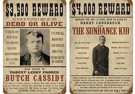 Robert Redford og Paul Newman spillede de to outlaws