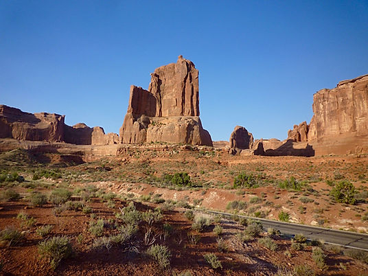 Three Gossips Sheep Rock. Arches. Roadtrip ruter og nationalparker i USA