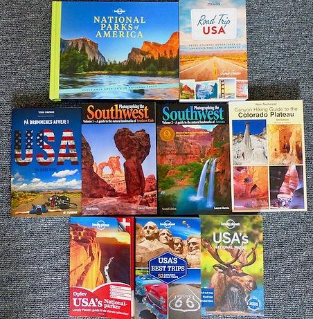 Bøger om USA. www.Drivingusa.dk