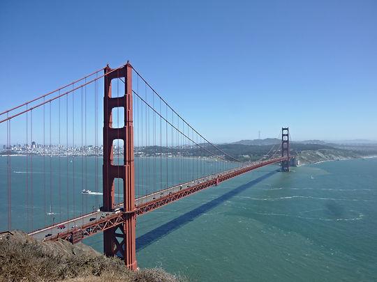 Golden Gate Bridge, Roadtrip ruter og nationalparker i USA