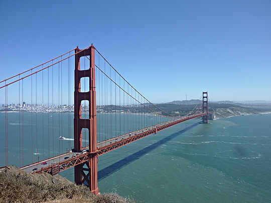 Golden Gate Bridge, Roadtrip ruter og nationalparker i USA