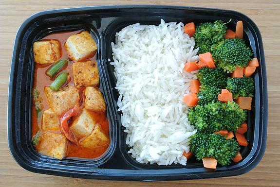 Tofu Thai Green Curry Bowl