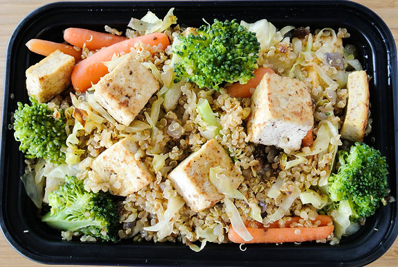 Quinoa Fried Rice with Tofu