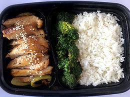Chicken Teriyaki (Tofu for vegetarian)