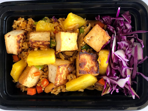 Thai tofu pineapple fried rice (Not spicy)