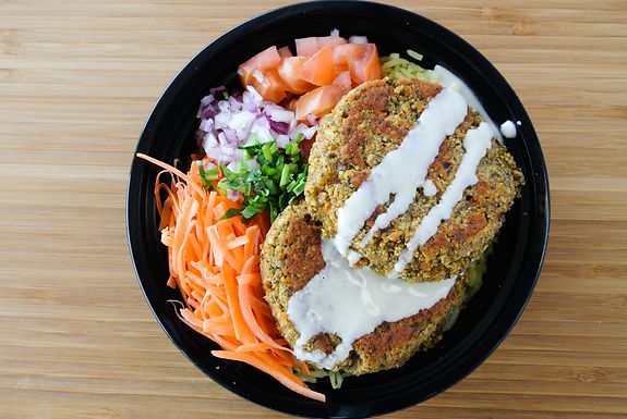 Veggie Burger Bowl