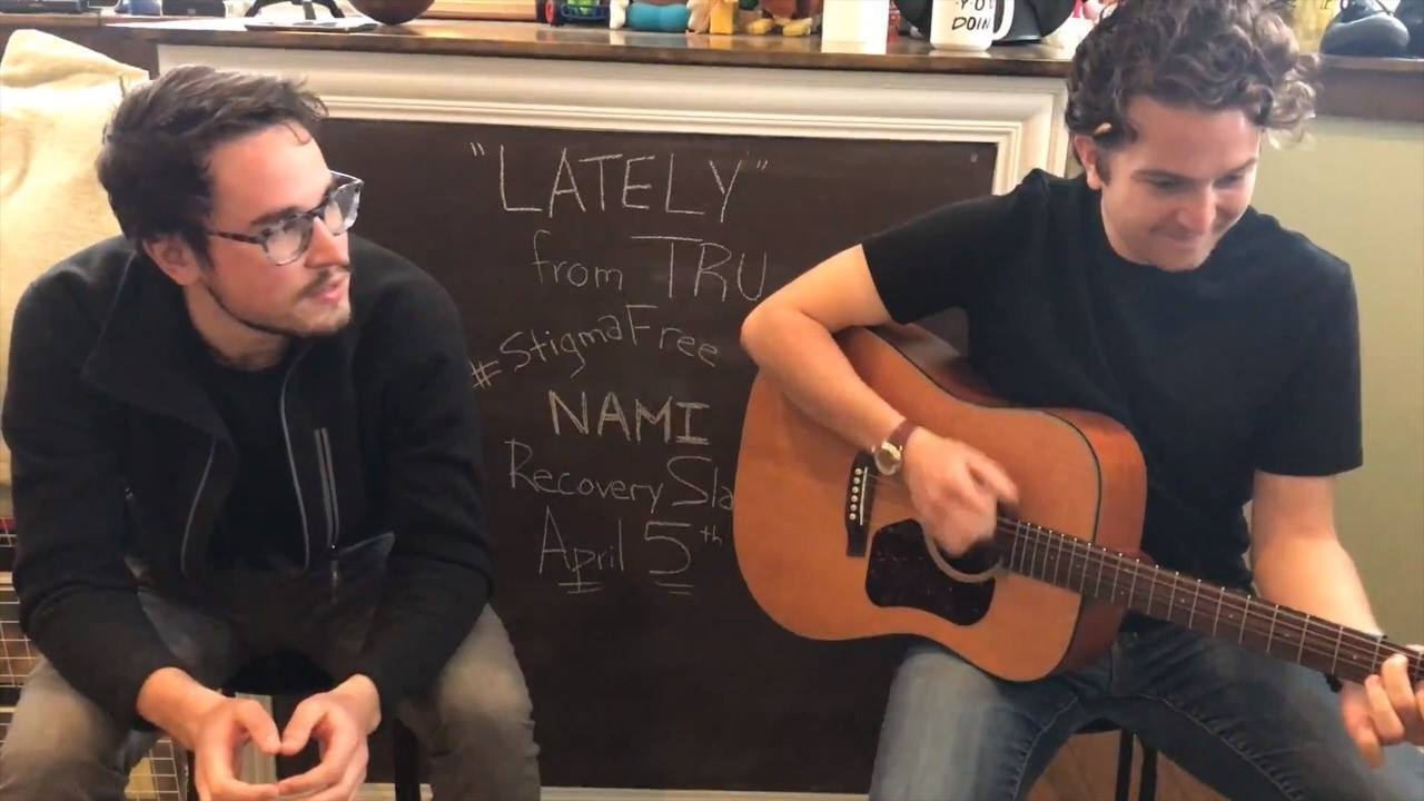 """Lately"" - Rehearsal for the NAMI Recovery Slam"
