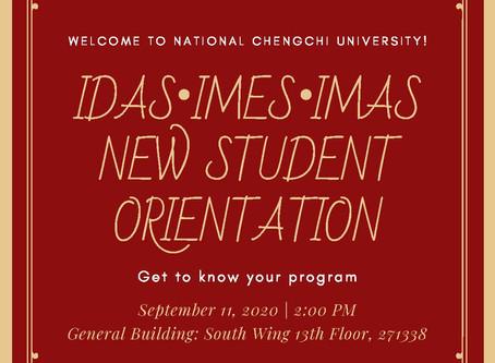 New Student Orientation - Fall Semester 2020
