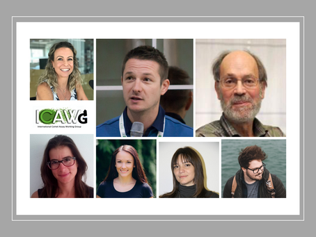 The first ICAWG committee was selected