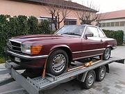 Mercedes 560 SL US