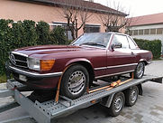 Mercedes 560 SL US