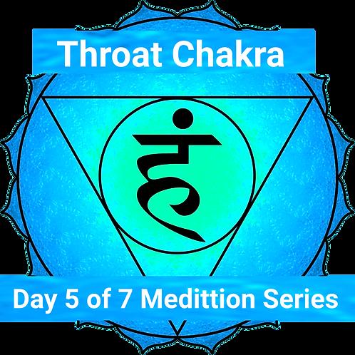 Throat Chakra Balancing Meditation