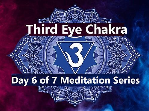 Third Eye Chakra Balancing Meditation