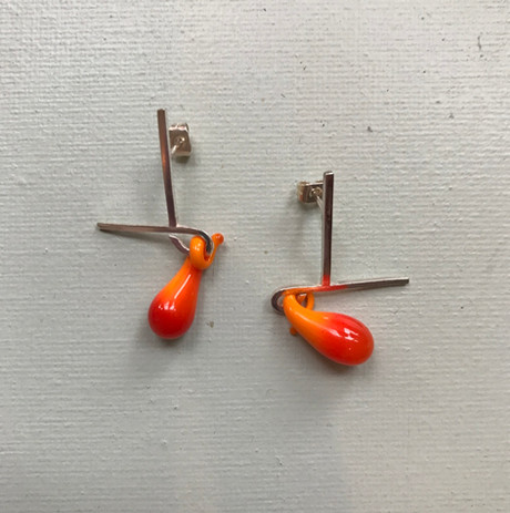 Earrings, £40, SOLD