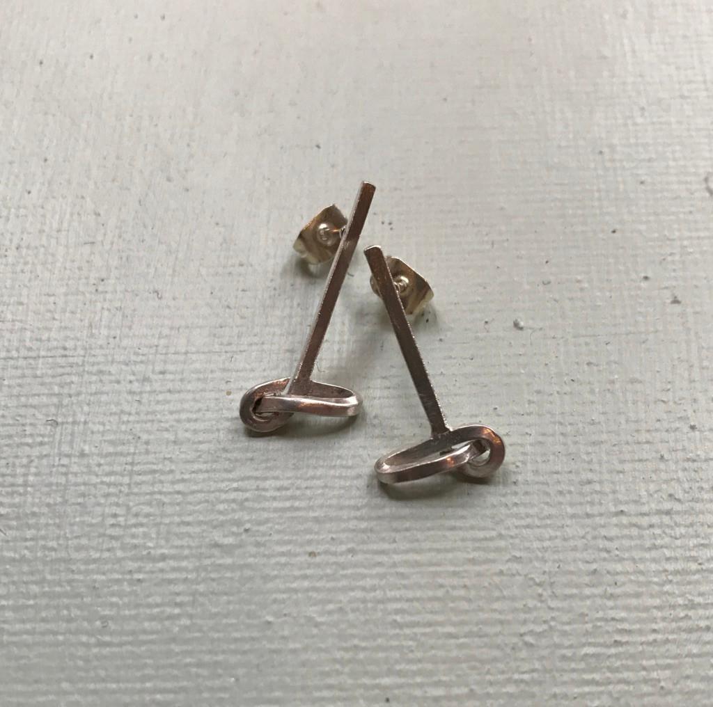 Earrings, £35, SOLD