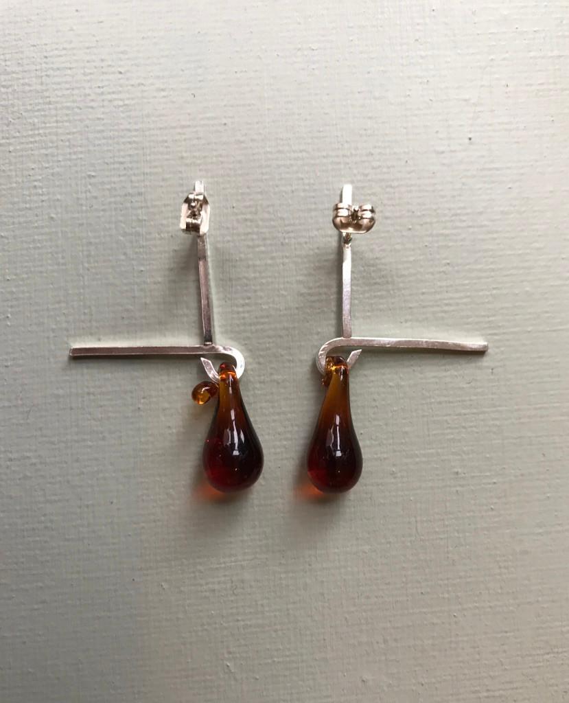 Earrings, £40, SOLD