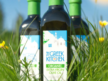 Our NEW Organic Unfiltered Extra Virgin Olive Oil!