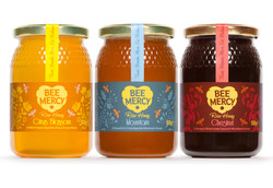 Bee Mercy Raw Honey