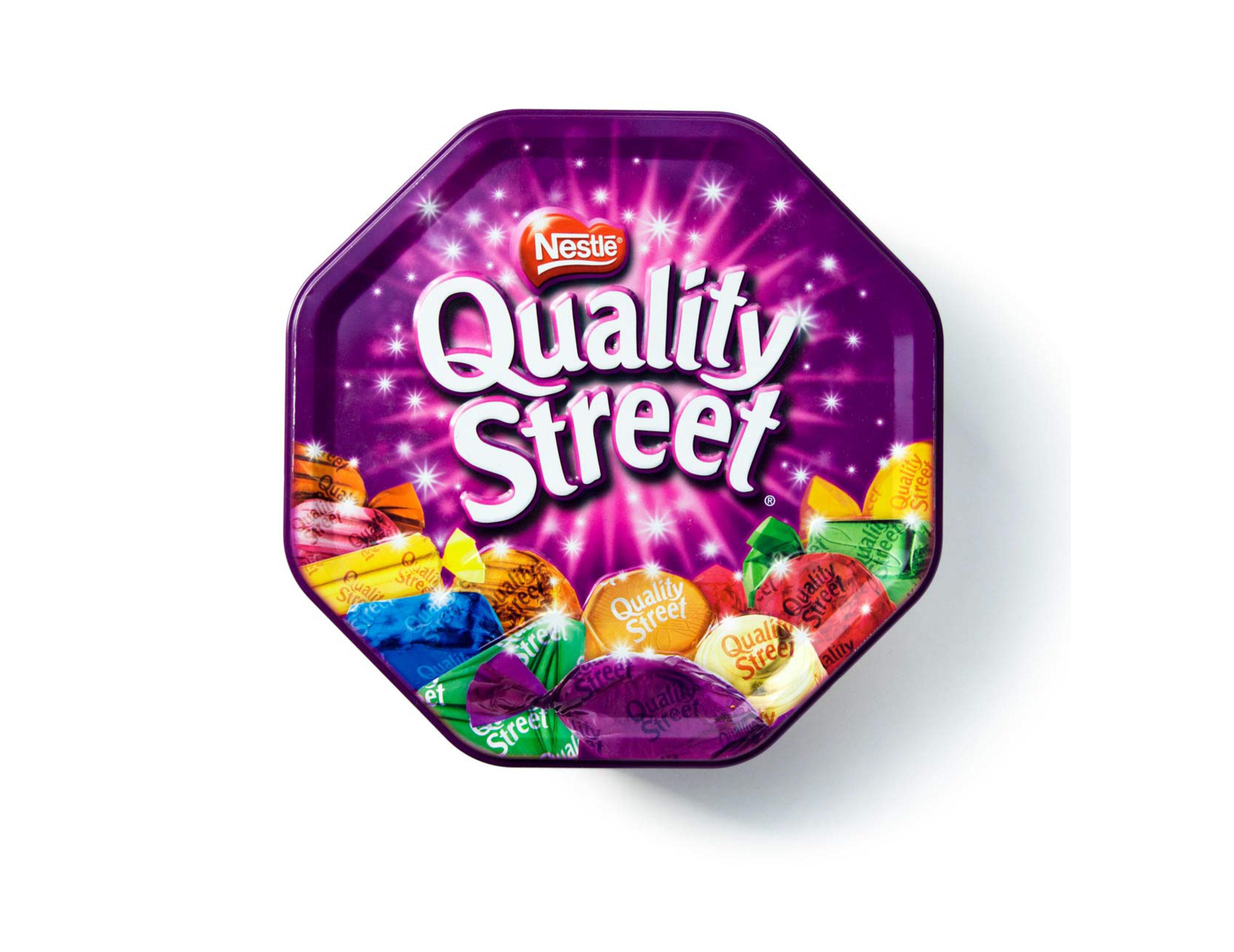 Quality Street Rebranding