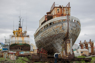 Old Rusty Boat(s)