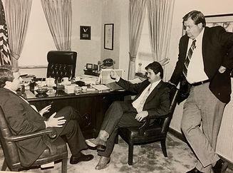AG Jim Mattox, VF and Reed Lockoof at VF