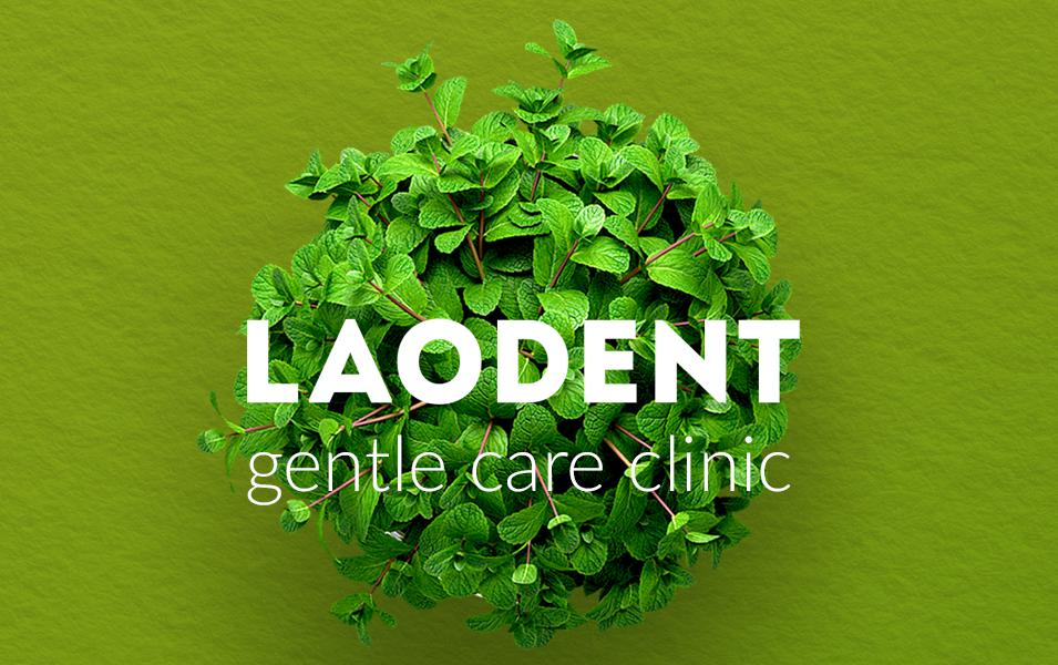 брендинг стоматологічної клініки Лаодент