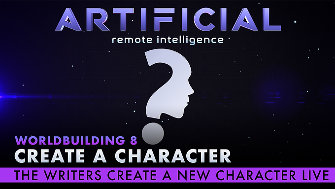 Create a Character and Meet the Writers