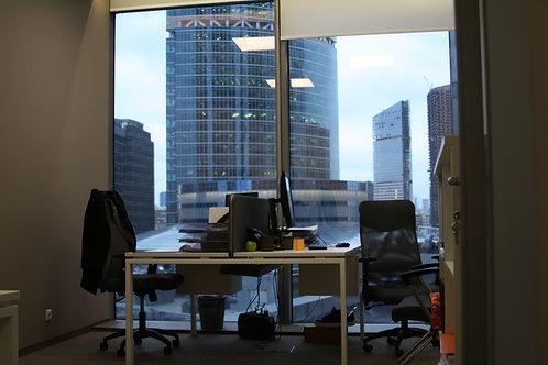 Офисный блок 73 кв. метра в БЦ Башня Федерации Восток