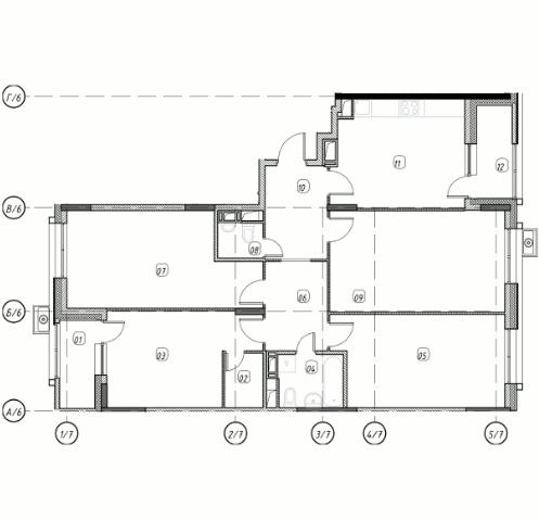 Квартира 4 комнаты, 112,1 кв.