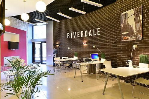 Офисный блок 170,4 кв. метра в БЦ Ривердейл, 2й Павелецкий прозд 5, ст