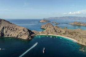 The Komodo National Park at the Rinca Is